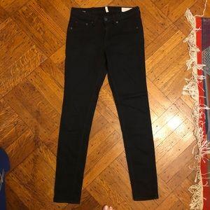 Rag & Bone stretch black jeans